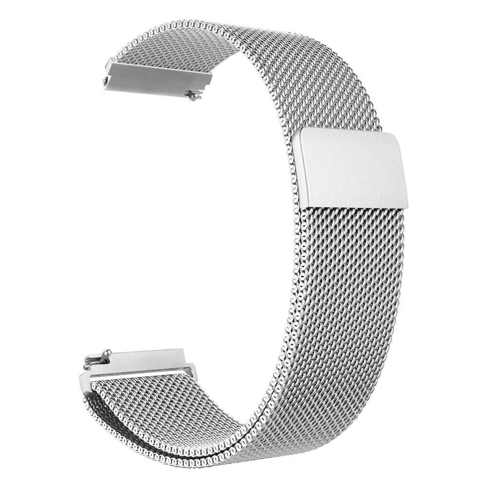 Pulseira para Apple Watch Prateada Milanese 44/42MM Flexinter