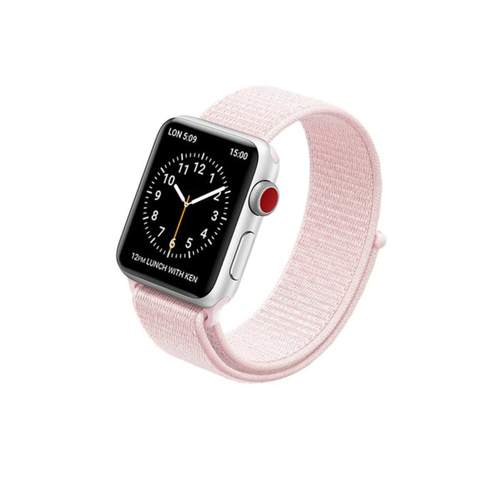 Pulseira para Apple Watch Rosa Nylon 38MM Flexinter