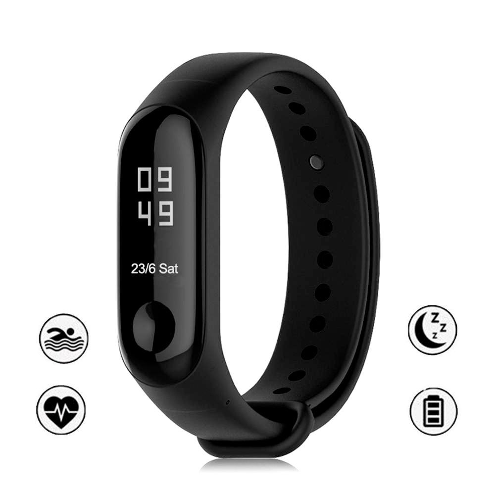 Pulseira Xiaomi Mi Band 3 Curvada Oled Display Smart Watch Fitness Batimentos Miband3