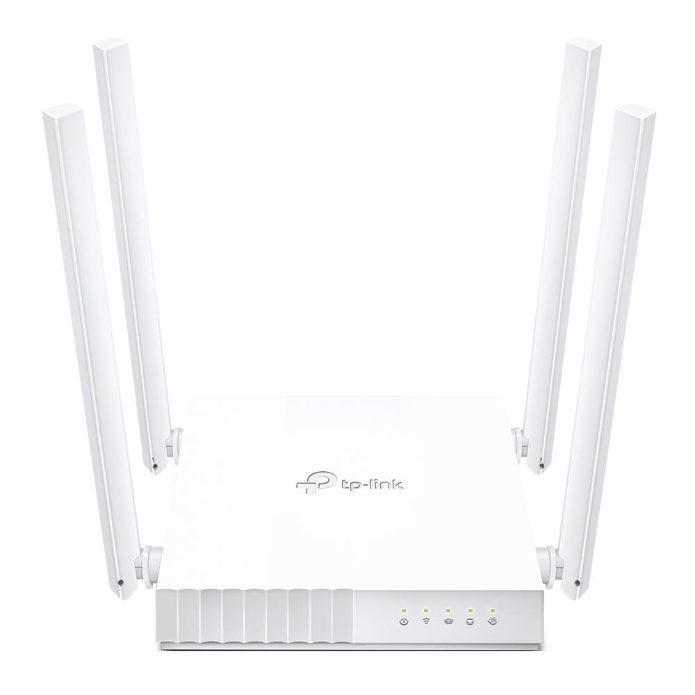 Roteador Wi-fi TP-Link AC750 Dual Band, 433 Mbps, 4 antenas - Archer C21 (BR) 1.0