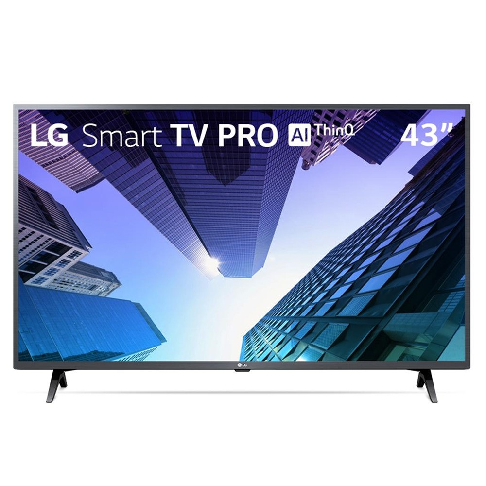 Smart Tv LED Pro 43`` - Full Hd LG 43LM631C0SB.BWZ 3 HDMI 2 USB Wi-Fi Conversor Digital - Bivolt