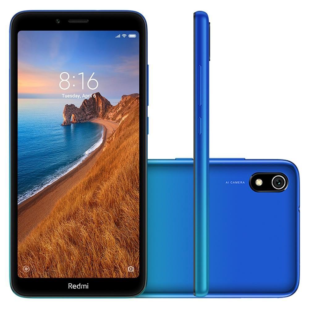 Smartphone Xiaomi Redmi 7A 32GB Azul - Gem Blue
