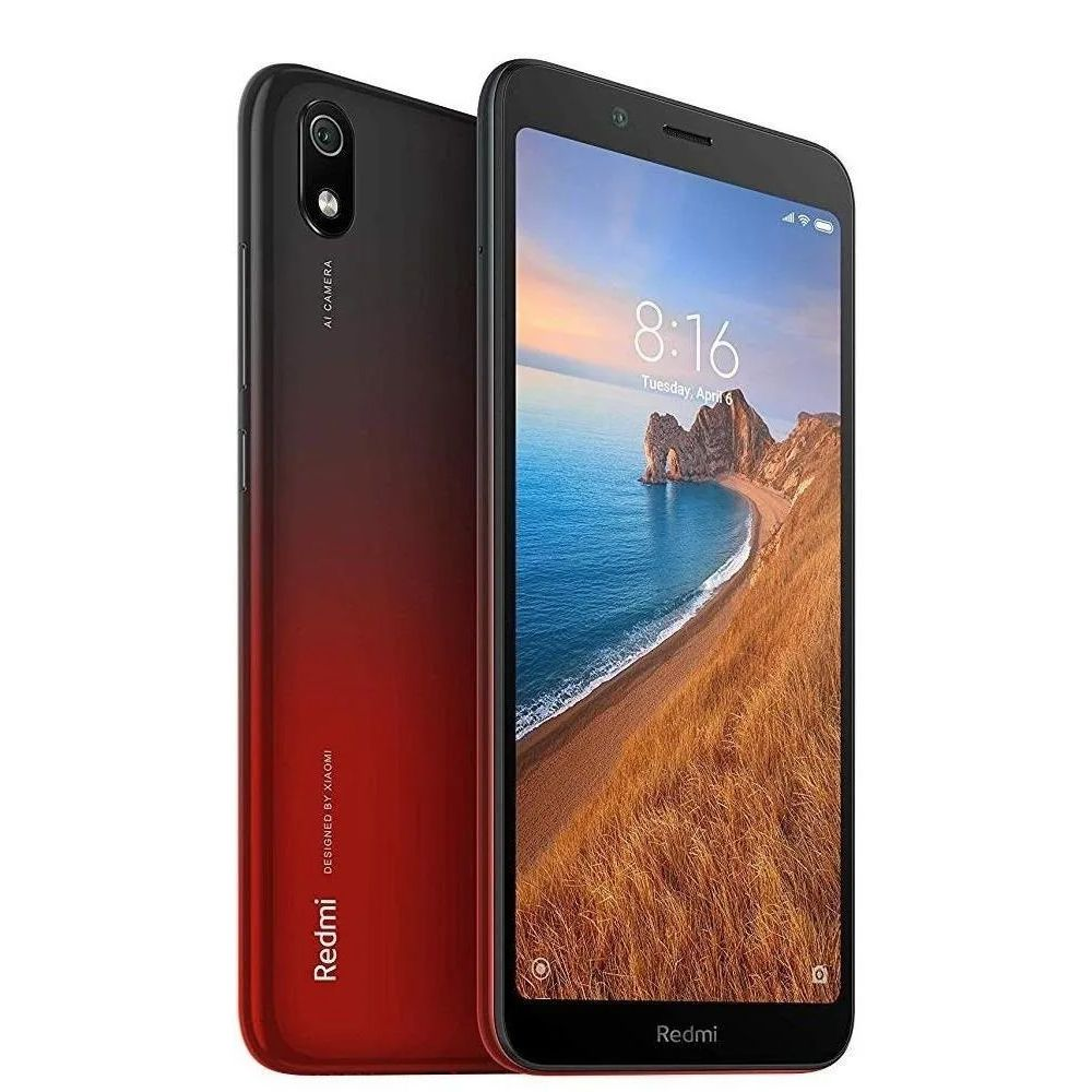 Smartphone Xiaomi Redmi 7A 32GB Vermelho - Gem Red