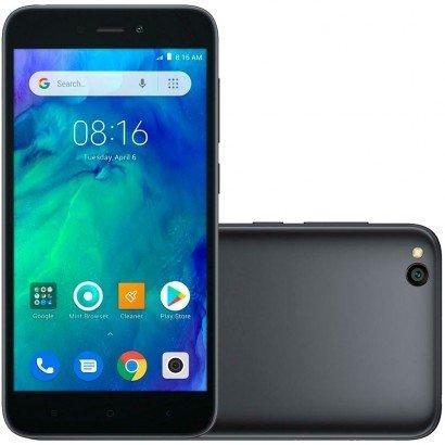 Smartphone Xiaomi Redmi Go, 16GB, 8MP, Tela 5´, Preto