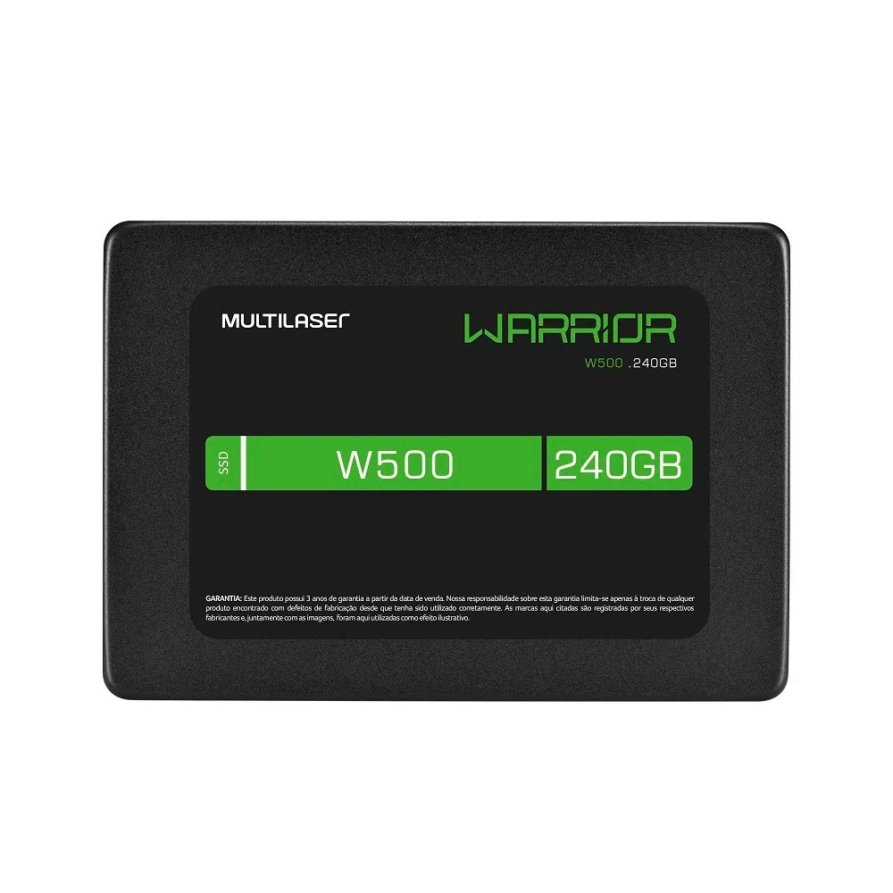 Ssd Gamer Warrior 2,5 Pol. 240Gb W500 Gravação 500 Mb/S - SS210