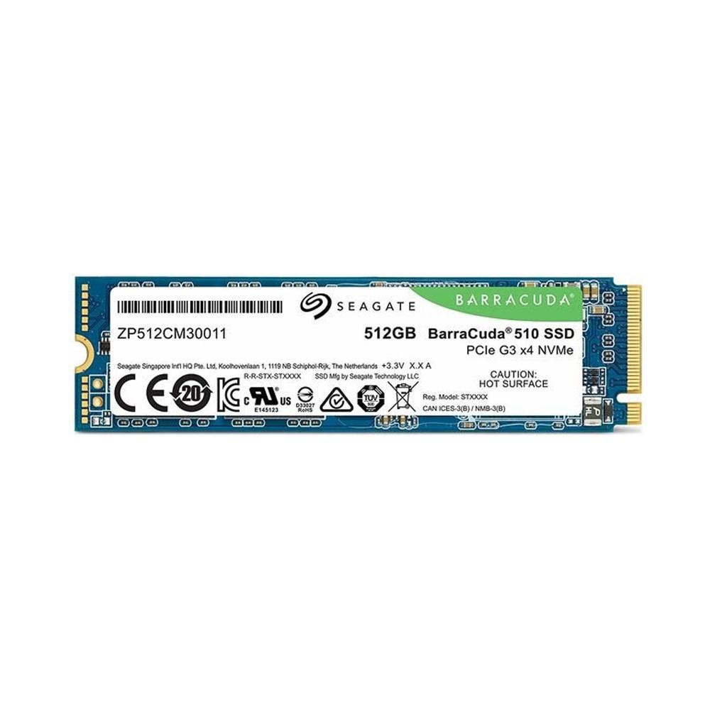 SSD Seagate BarraCuda 510 M.2 512GB PCIe Gen3 x4 nVMe 3D Nand ZP512CM30011