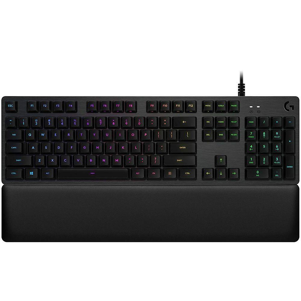 Teclado Gamer Mecânico RGB G513 Carbon Tactile - Logitech