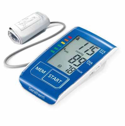 Monitor de Pressão de Braço Geratherm Active Control + Bateria recarregável