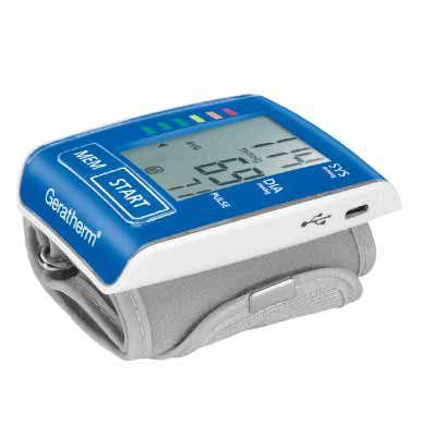 Monitor de Pressão de Pulso Geratherm Active Control Bateria recarregável