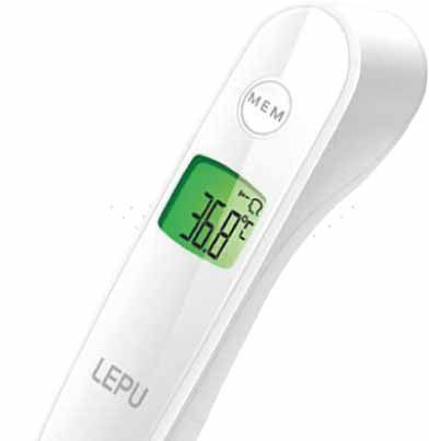 Termômetro Digital Sem Contato COVID-19
