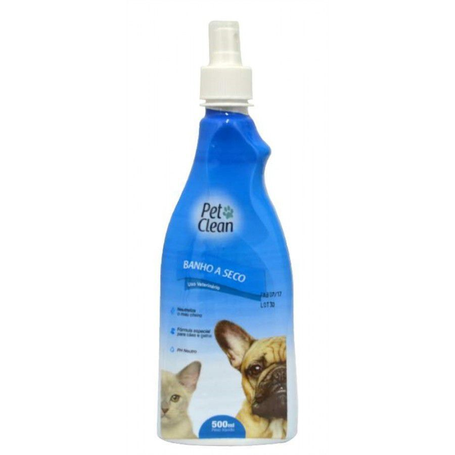 Banho Seco Pet Clean Liquido 500ml