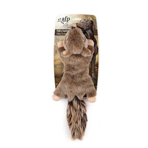 Brinquedo Cachorro Pelúcia Esquilo Felicy Afp