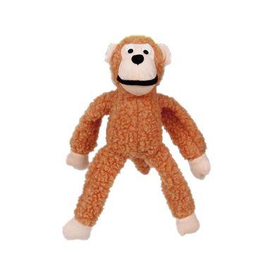 Brinquedo Para Cachorro Mordedor Pelúcia Macaco Cores