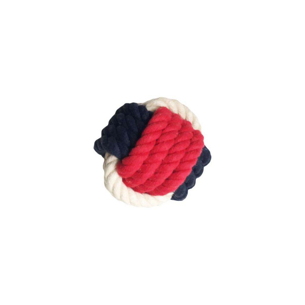 Brinquedos Para Cachorro Bola De Corda Vermelha Pet Brand
