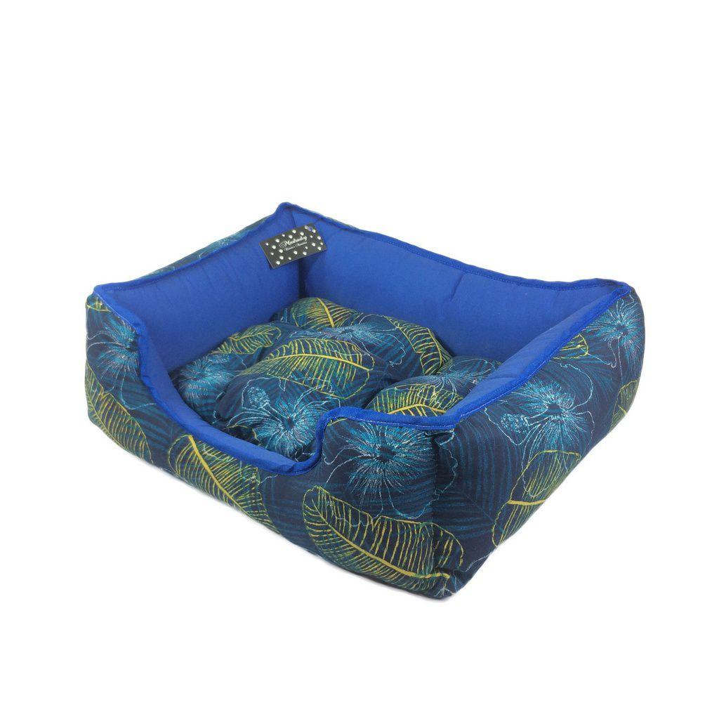 Cama Para Cachorro MadruDog Azul P 14 x 45 x 37