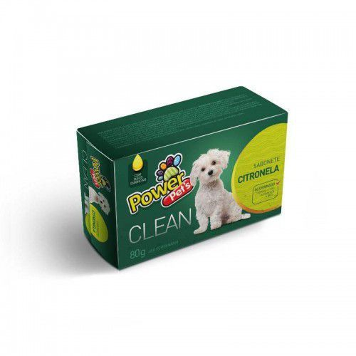 Sabonete Para Cachorro Citronela