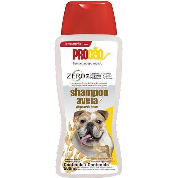 Shampoo Aveia Perfumado p/ cães e gatos 500ml Procão