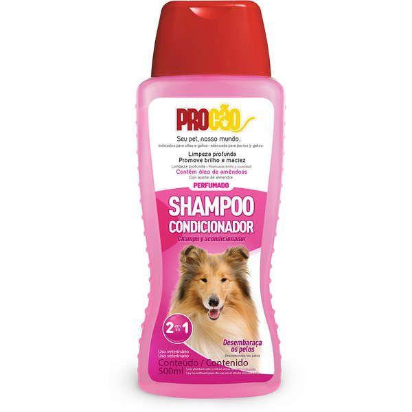 Shampoo condicionador p/ cães e gatos 500ml Procão