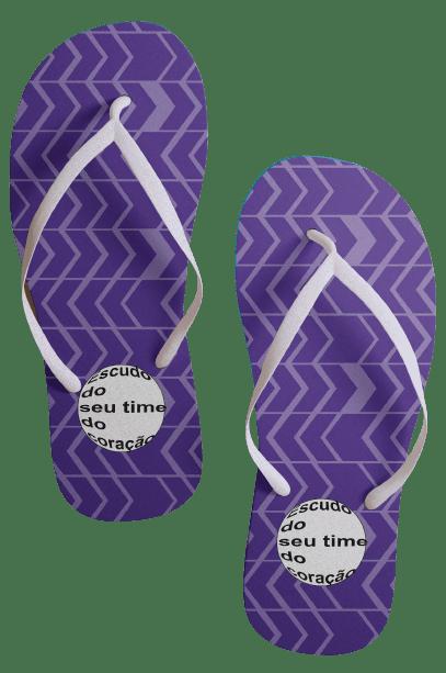 Par de chinelos 6