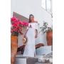 Vestido de Tricot Longo Ciganinha
