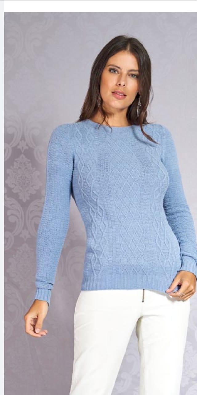 Blusa de Tricot Modal