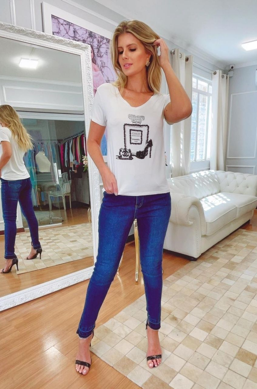 T-Shirt PC Bordado