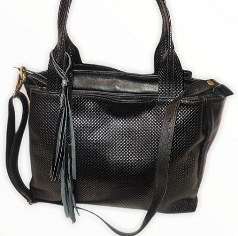 Bolsa Bag Grande em Couro TDS4545