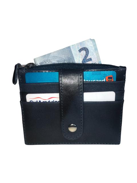 Carteira Porta Cartão em Couro TDS013