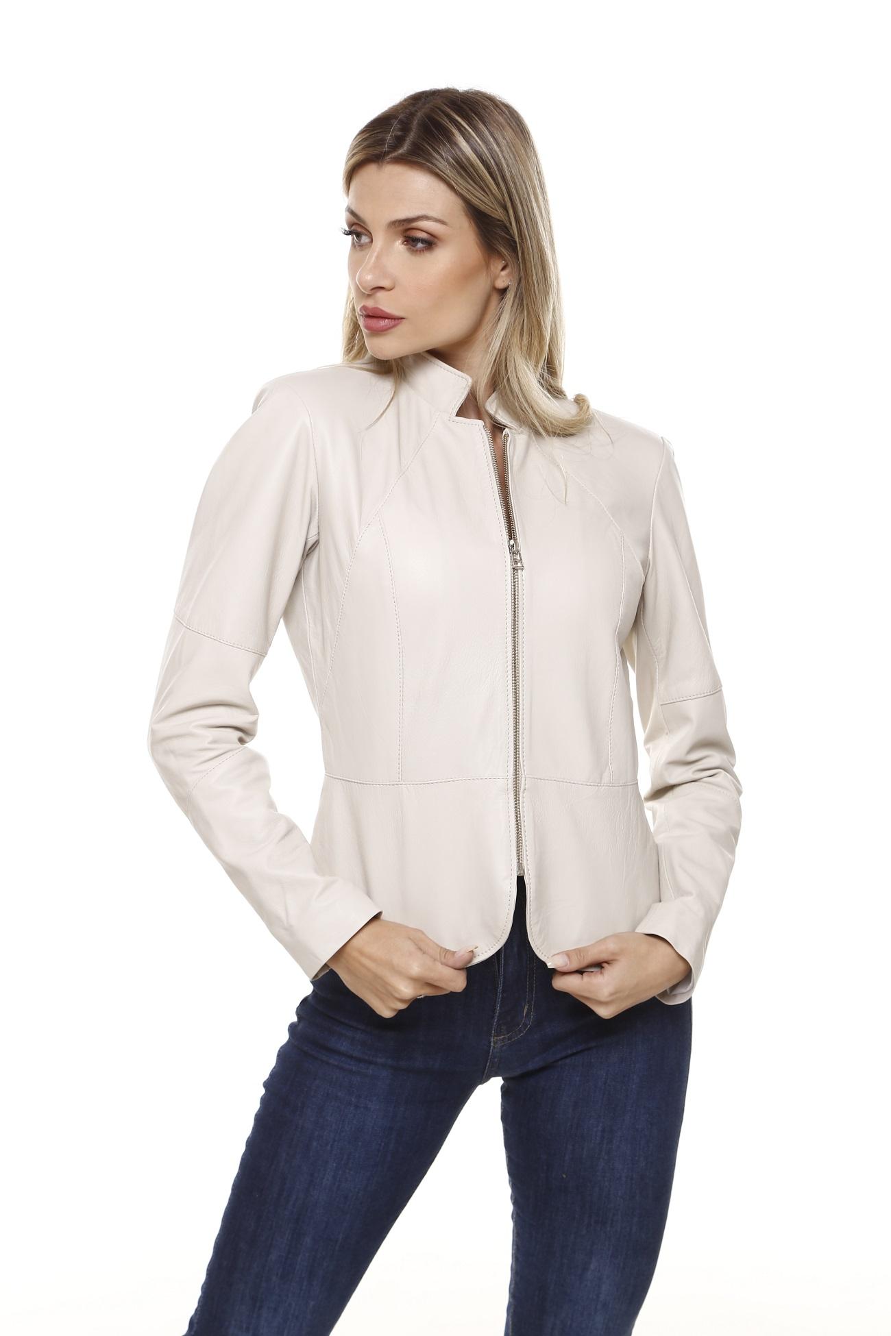 Jaqueta de Pelica Monica Gelo