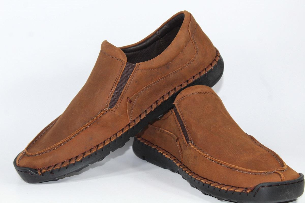 Sapato em Couro Soft Gel TDS7310