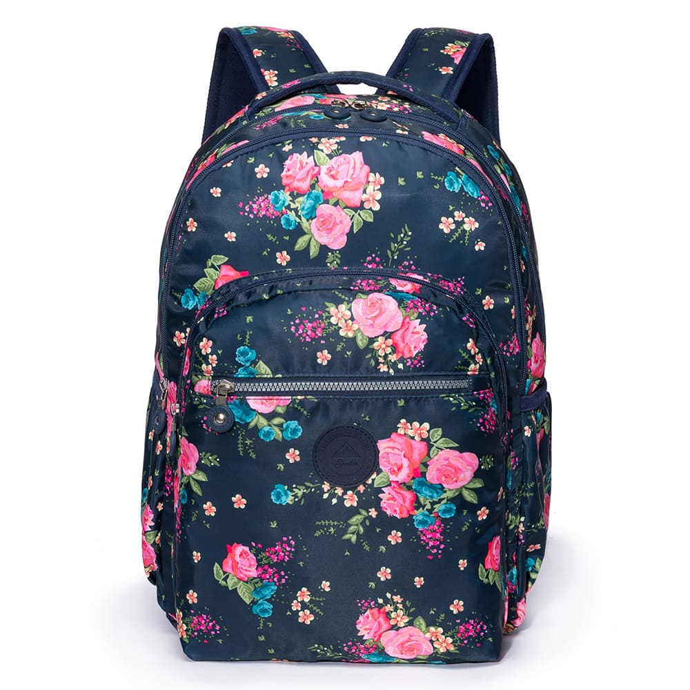 Bolsa Mochila Business Floral  Executiva  Fashion 18L - Spector