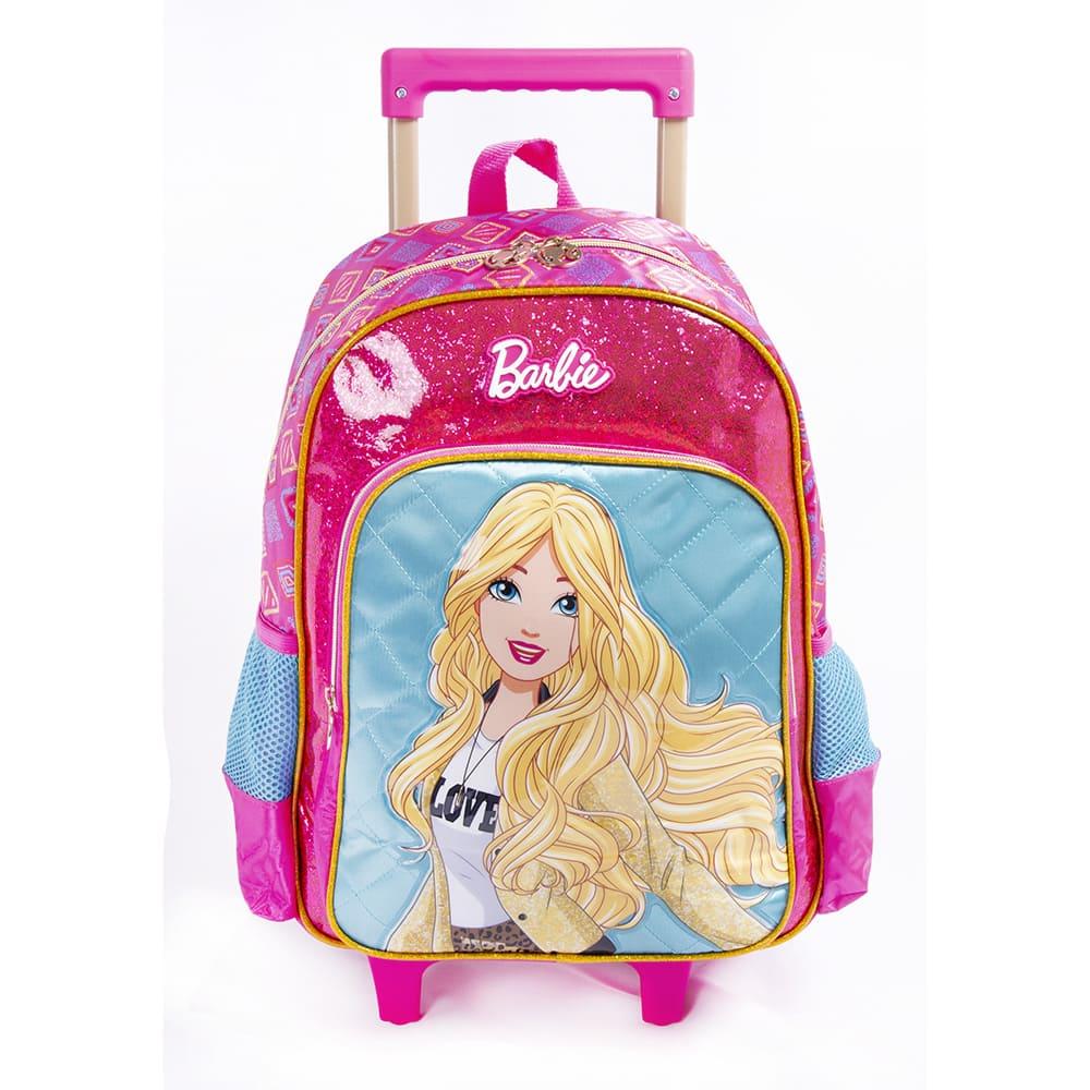 Mochila de Rodinha Barbie Original 26L - Luxcell