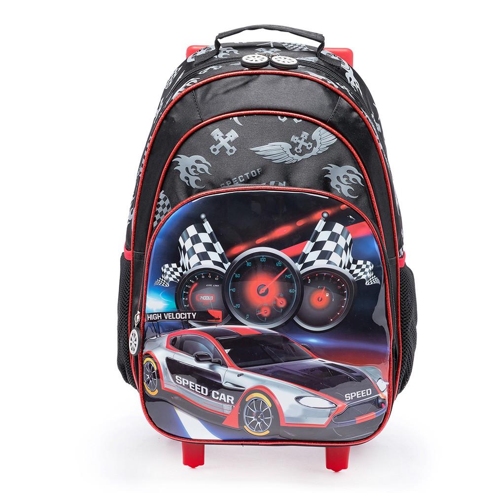 Mochila de Rodinhas Speed Car 17L  Super Oferta - Spector