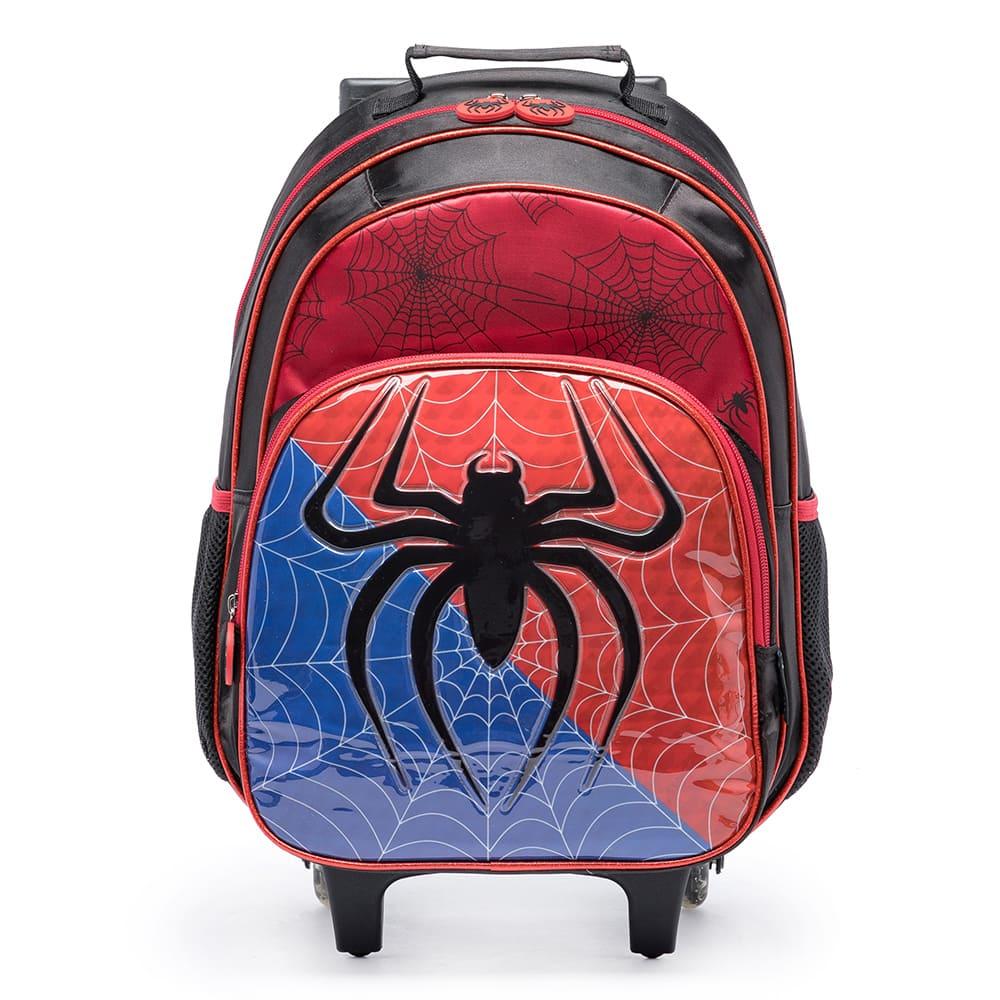 Mochila de Rodinhas Spider Aranha 17L - Spector