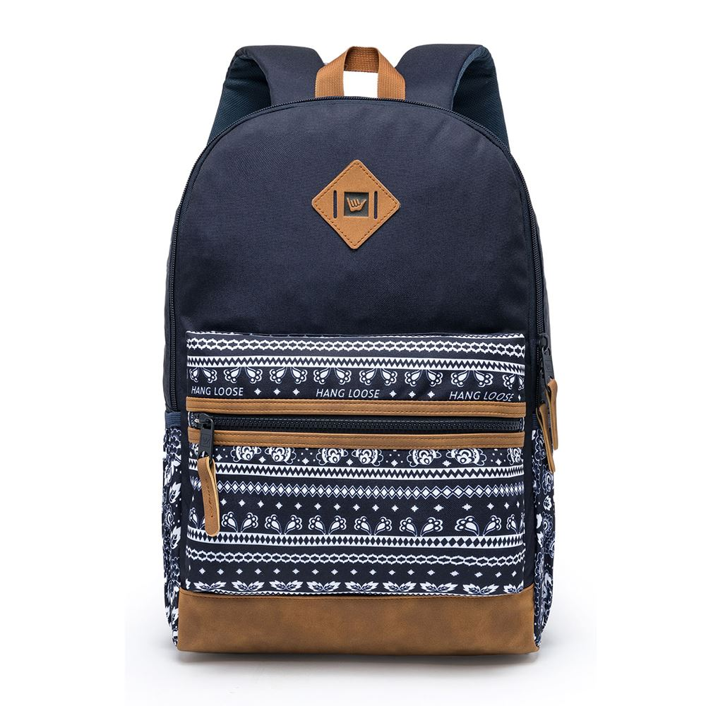 Mochila Hang Loose Blue Jeans Estampado