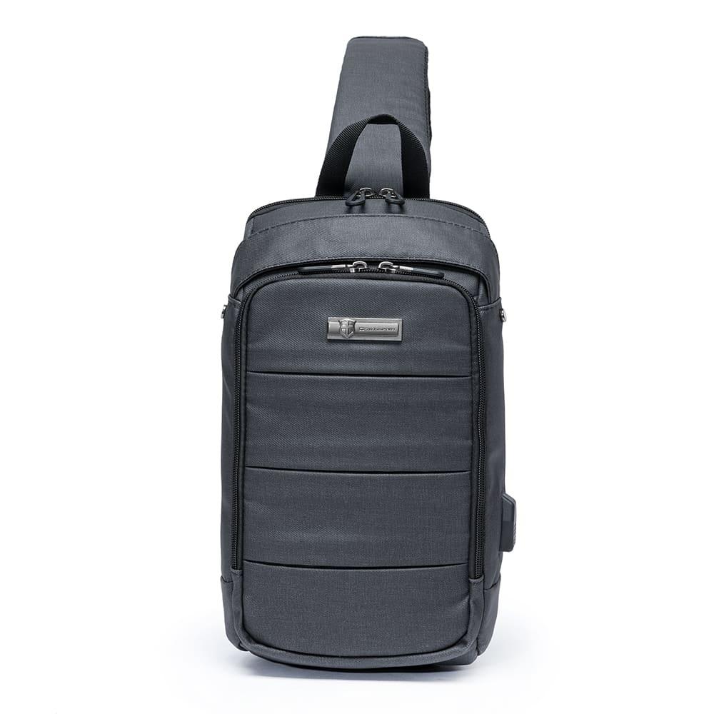 Mochila Shouder Bag com Encaixe USB 8L - Swissport