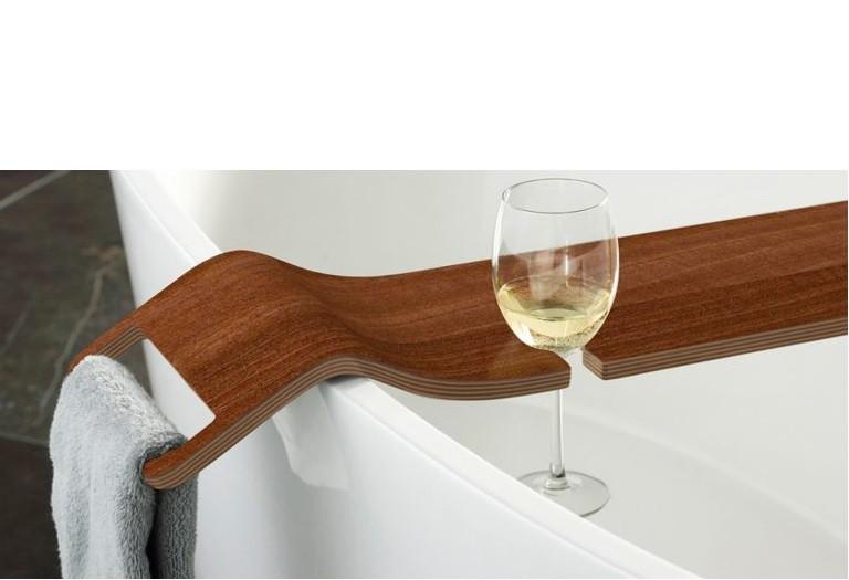 Bandeja Tombolo de madeira  para banheira.