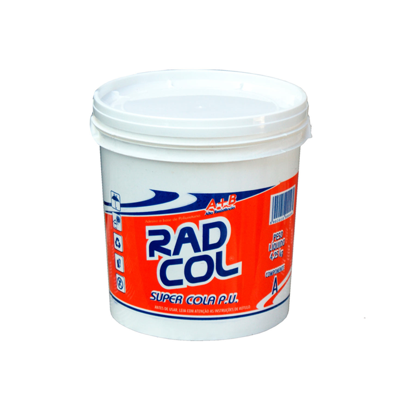 Cola Radial PU 606  Comp. A/B 5kg - RADIAL QUIMICA