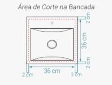 Cuba Arco 40 SABBIA Branco Fosco