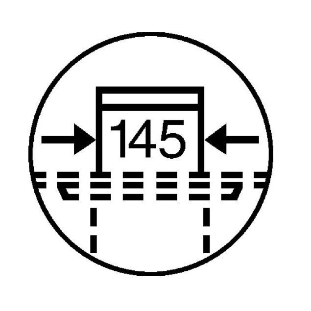 Grelha Advantix  Aço Inox  143x143mm
