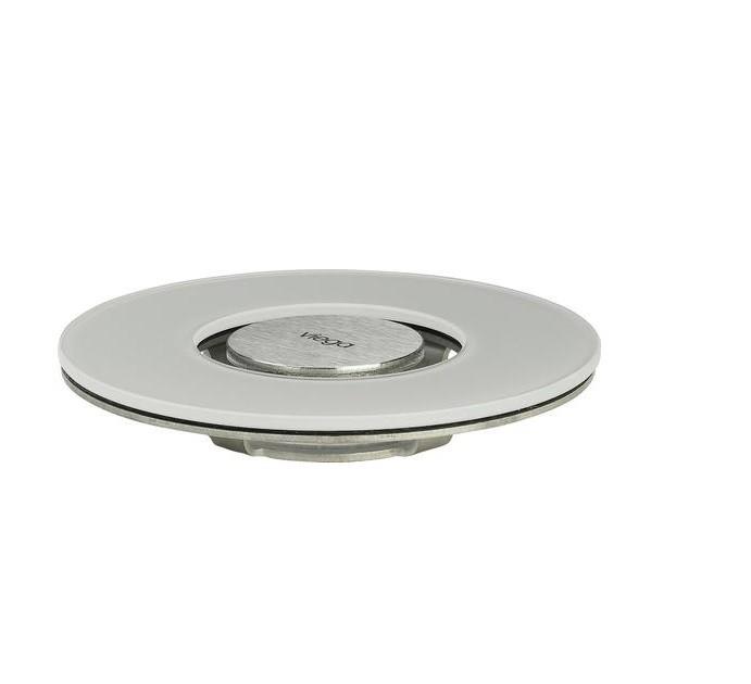 Grelha Visign  RS15 Vidro Temperado 145mm Light Grey