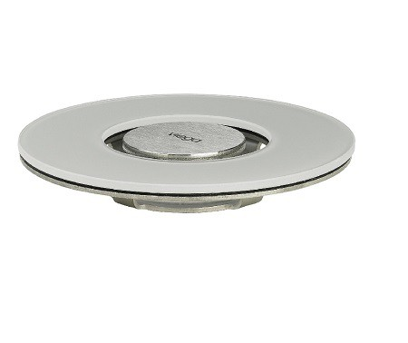 Grelha Visign  RS15 Vidro Temperado  Light Grey 110mm