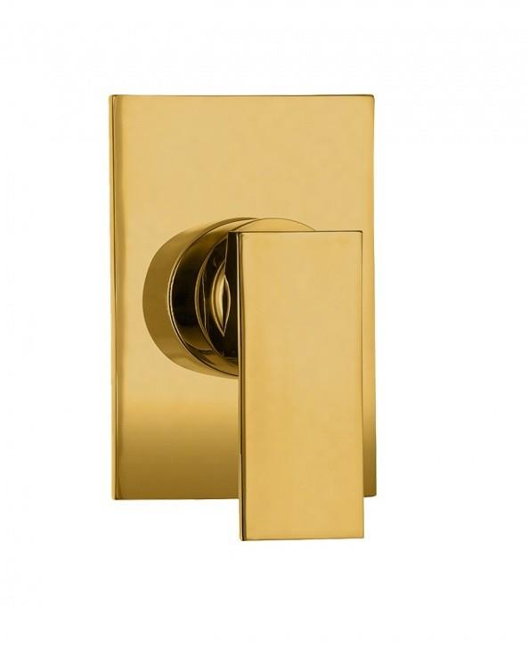 Misturador Monocomando Para Chuveiro Acabamento Dourado