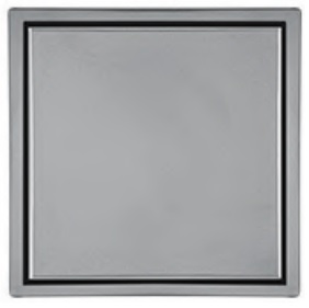 Ralo Mini Vistta Polido Inox 2x10x10cm