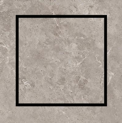 Ralo Quattro Oculto inox 15x15cm