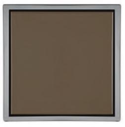 Ralo Quattro Vistta Bronze Inox 2x10x10cm