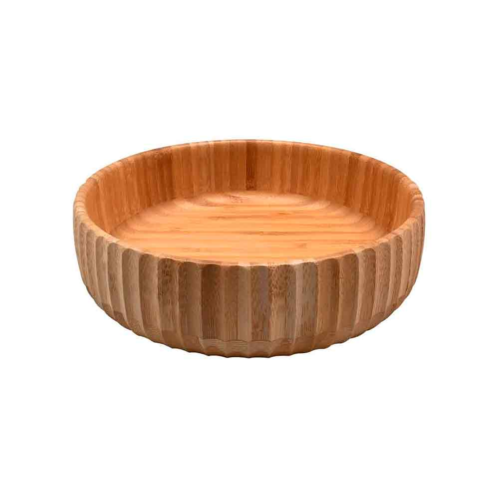 Bowl Canelado de Bambu Medio