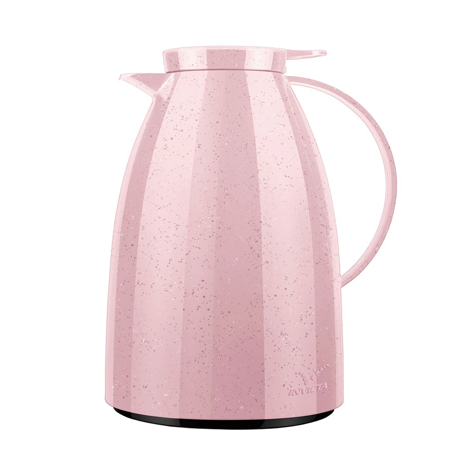 Bule Viena Rose Ceramic 750ml