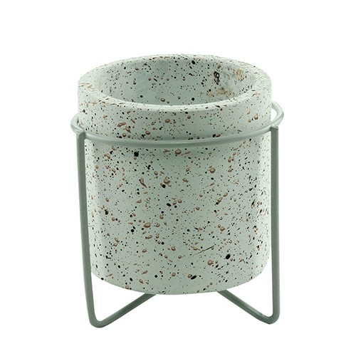 Cachepot Concreto Granilite Branco