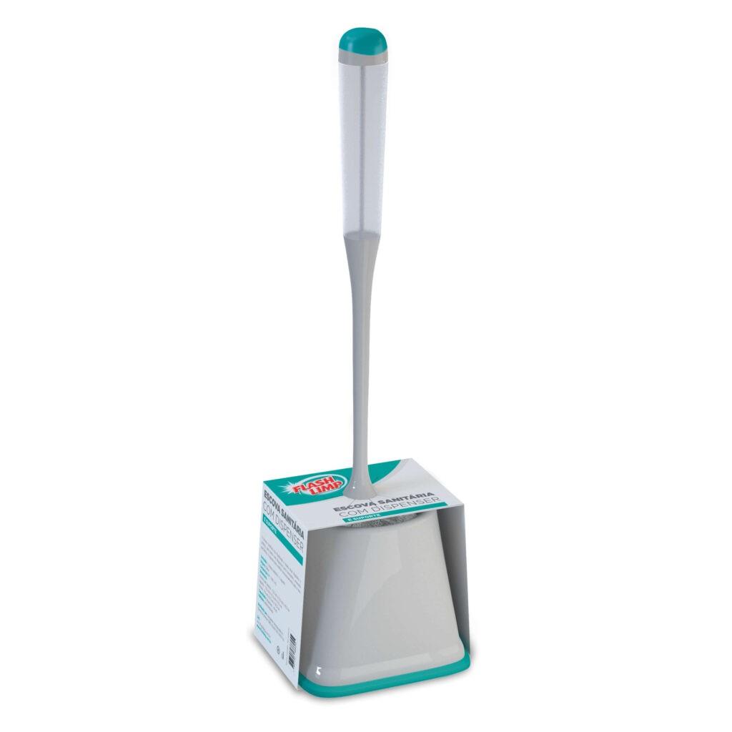 Escova Sanitária com Dispenser e Suporte